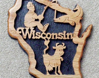 Wisconsin State Plaque
