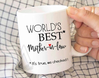 mother in law mothers day gift, gift for mothers day, Best mother in law mom gift, gift for mom, gift for mother in law, birthday gift MU379