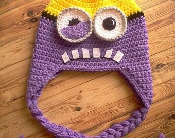 Half Evil Minion Hat