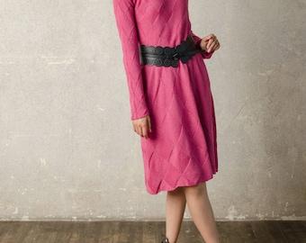 Knit dress/handmade dress