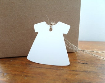 Gift Tag, Girl Birthday Gift Tags, Blank Gift Tags (comes with Natural Jute Cord)
