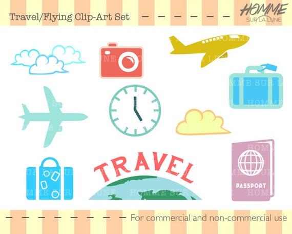 travel icons clipart travel clipart scrapbook clipart rh etsystudio com free printable disney clipart for scrapbooking printable clipart for scrapbooking