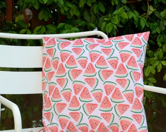 NEW Watermelon Print Outdoor Cushion Cover