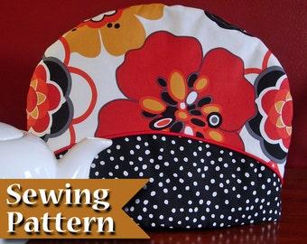 Tea cosy sewing pattern | DIY | Teapot cozy pattern | Instant download | Tea cozy | Tea warmer | Tea pot cover | Tutorial
