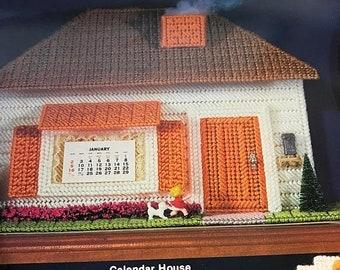 SUMMERSALE Home Stitchin' Plastic Canvas Village pattern book, very hard to find