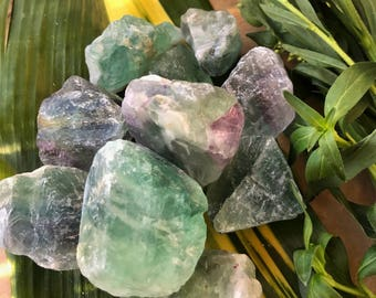 LARGE FLUORITE Crystals, Grade A Raw Green Fluorite, Rough Crystal Stones Gemstone for Healing, Yoga, Meditation, Reiki, Wicca, Crafts