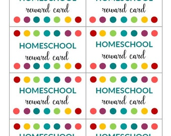 Punch Card Etsy - Reward punch card template