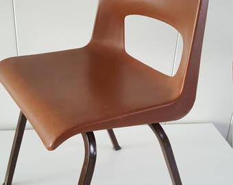 For Vintage highchair-Wychen NL-plastic from the 1960s years Child stool 60 's