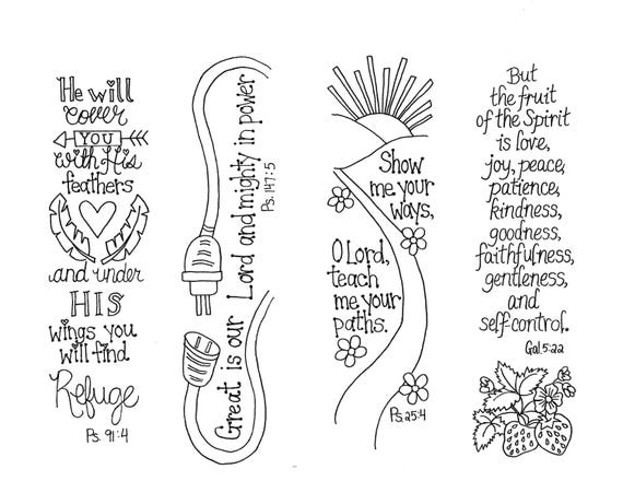 bible journaling templates scripture