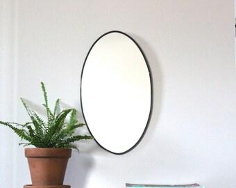 Oval Mirror Handmade Wall Mirror Wall Mirror Miroir Round Oblong Circle
