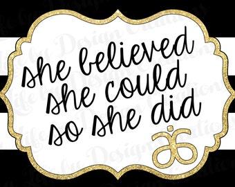 She Believed - Arbonne - Download