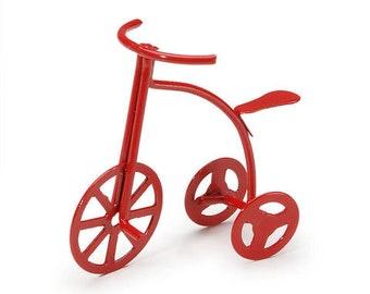 Fairy Garden Tricycle/ Fairy Garden/ Fairy bike/ Miniature Garden/Red Bike