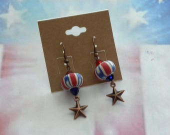 Patriotic Earrings