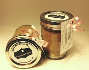 Skinny Hot Cocoa Mix, Iced Mocha, Hot Chocolate Mix, Mason Jar, Gift Giving, Iced Coffee, Sugar Free, Low Carb, Low Fat, Low Calorie