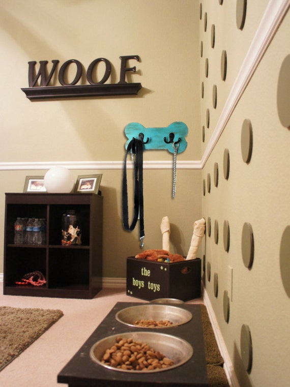 Beau Wood Dog Bone Leash Holder, Pet Room Decor, Perfect Dog Lover Gift, Kennel  Decor, Home Decor, Gift, Dog Leash Holder