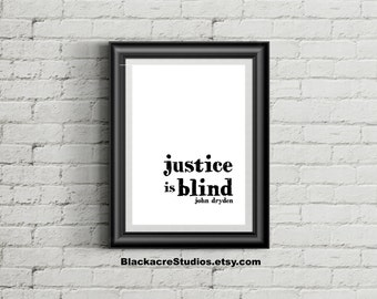 Law Office Art - Law School Graduation Gift - Poster - Legal Quote - Wall Decor - Instant Download - Typography Print - Lawyer - Wall Art