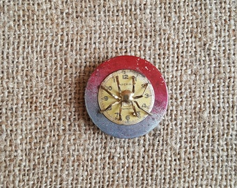 Upcycled Fridge Magnet Jewelry Found Objects buttons - Strong Refrigerator Magnet Vintage Jewelry Bits Kitchen Decor Magnets Handmade Art