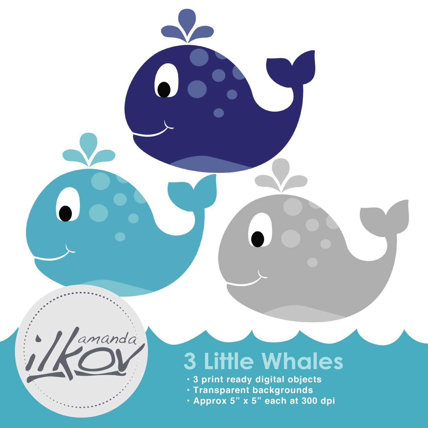 premium baby whale clipart for digital scrapbooking crafting rh etsy com killer whales clipart whales clipart