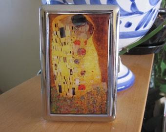 Gustav Klimt The Kiss Cigarette or Card Case or Wallet