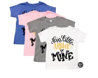 This Little Light of Mine - Unisex Kids Shirts - Trendy Kids' Shirts - Christian Shirts - Gonna Let it Shine - Spiritual Shirts