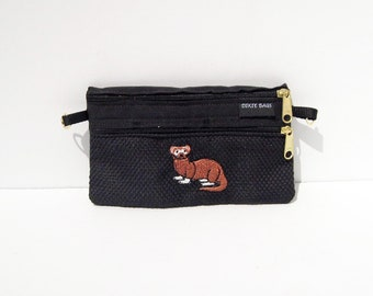Ferret  2 Compartment Pouch