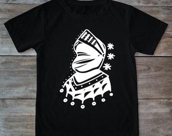 Knight shirt, knight tattoo, helmet shirt, medieval knight, tattoo shirt, gift for tattoo lover, classic tattoo art, hipster gift, tattoos