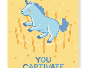 You Captivate Me Card