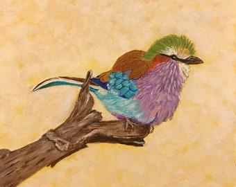 Cute little birdie #11 - 6 x 6
