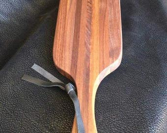 handcrafted BDSM wooden paddle