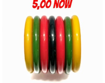 """SALE!!! wonderful """"fab-a-lite"""" reproduction bangle 40s look - awesome heavy quality, almost like BAKELITE!!!"""