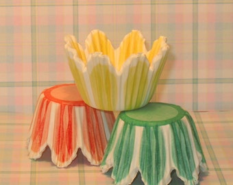 Mini Tulip Cupcake Liners (75 Qty)