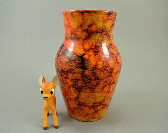 Vintage vase / Scheurich / 549 18   West Germany   WGP   60s