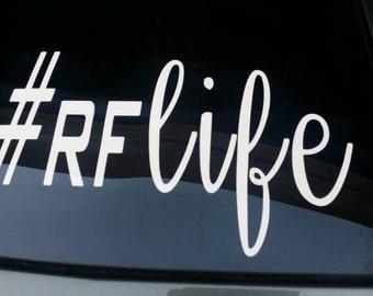 R+F-#RFlife-R+F Decals-Rodan Fields-R+F Swag-Rodan Fields Swag-R+F Stickers-Rodan Fields Stickers
