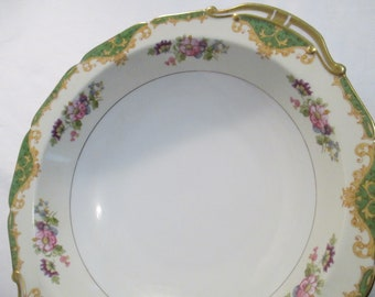 Vintage Noritake China Amazon Round Vegetable Serving Bowl