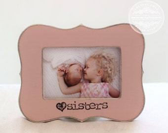 Sister Christmas Gift Personalized Picture Frame Custom Sister Twin Gift for Holiday