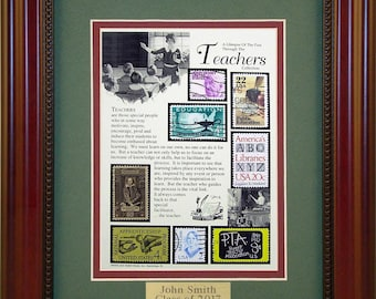 Teachers 2322 - Personalized Framed Collectible (A Great Gift Idea)