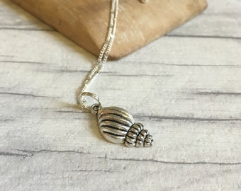 Sea shell necklace surfer jewellery beach themed bridesmaid jewellery inspirational womens gift gift for women new mother mothers day gift