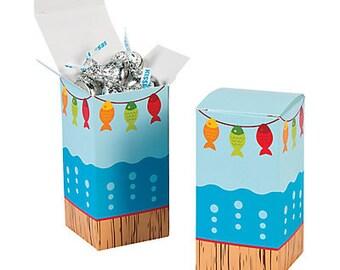 Fishing Favor boxes/ treat boxes/ goodies boxes