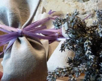 set of 10 natural fragrant lavender sachet large