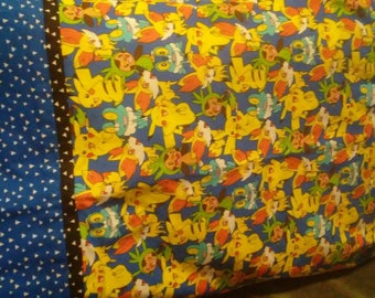 Pokemon travel size pillowcase