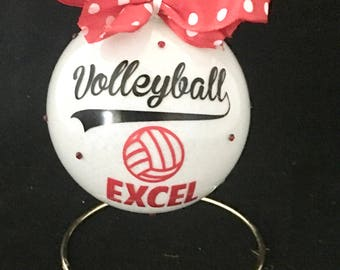Christmas ornament for volleyball, volleyball ornament, volleyball players, volleyball, volleyball team ornament, volleyball ornaments