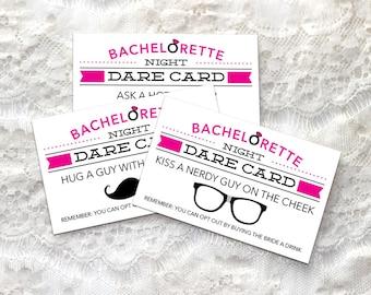 Bachelorette Dare Cards - Bachelorette Party Game - DIY - Printable Game - Bachelorette Party - Dare Game - Instant Download