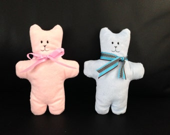 Handmade soft stuffed bear
