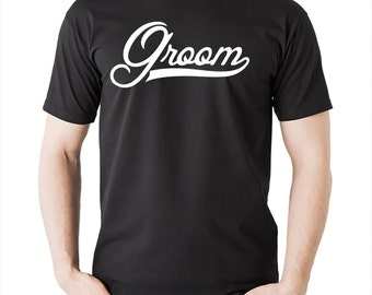 Groom  T-shirt Wedding Gift For Groom Tshirt Wedding T-shirt For Groom