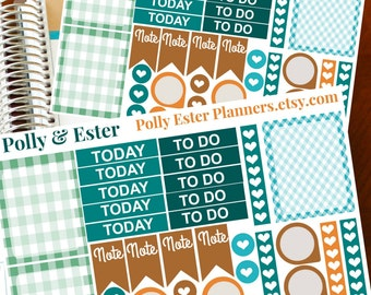 November Sticker Set, 37 November Planner Stickers, ELCP Kit, To Do Stickers, Today Checklist Sticker, Planner Sticker, Weekly Planner, ECLP