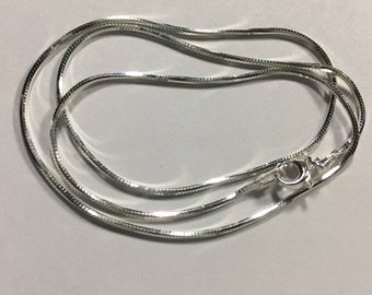 Sterling Silver Snake Chain [16in long]