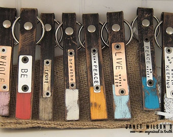 Skinnie Dipped Keychains - Distressed
