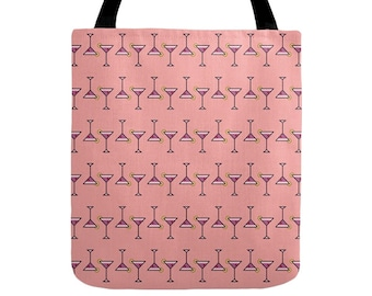 Cocktail Tote Bag - Icon Prints: Drinks Series