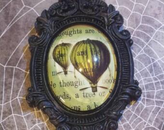 Steampunk Balloon Baroque necklace