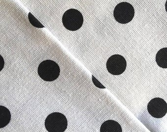 Cotton-linen Japanese / dots / coupon 50cm x 50cm
